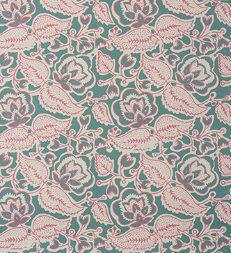 Bergamot Leaf Wallpaper - Pomegranate & Thyme