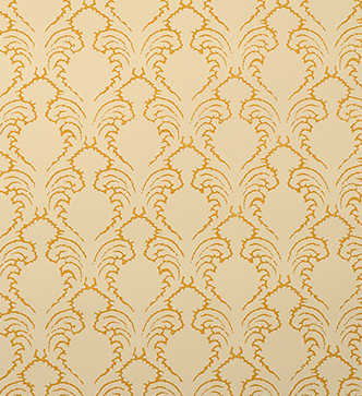 Etched Pineapple Wallpaper - Ochre