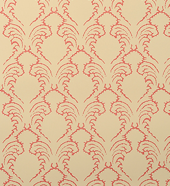 Etched Pineapple Wallpaper - Watermelon