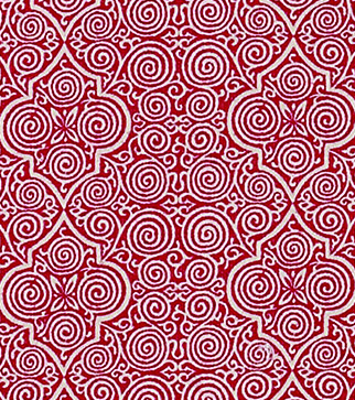 Persian Maze - Red - Weave