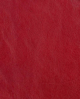 Cherry Cow Hide Leather