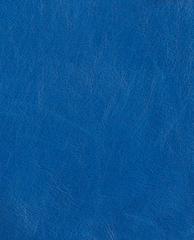 Electric Blue Cow Hide Leather